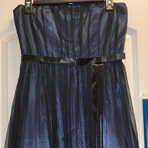 Tea length cocktail dress